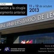 IV curso de iniciación a la cirugía de segmento anterior