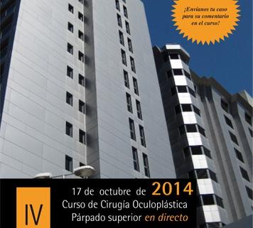 IV Curso de Cirugía Oculoplástica. Párpado Superior en directo - León 17 de octubre de 2014
